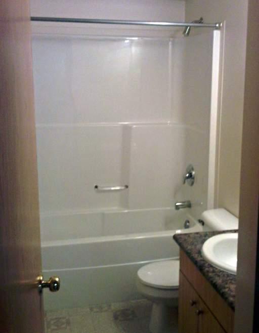 Apartments in Grande Prairie – Emerald Manor. Bathroom