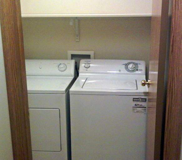 Apartments in Grande Prairie – Emerald Manor. Laundry