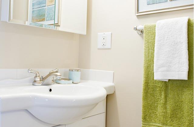 Edmonton Apartments -Callingwood on 170th Apartment bathroom