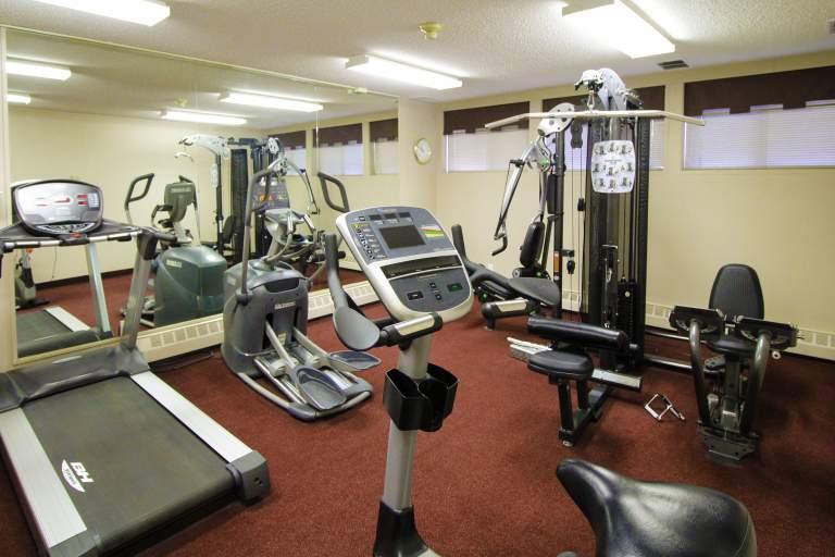 Heatheridge Estates Apartments Edmonton gym
