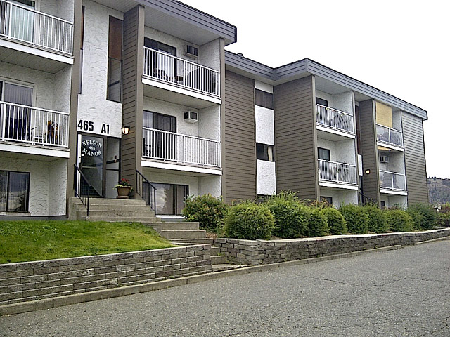 Rent in Kamloops – Kelson Manor Apartments. Building front