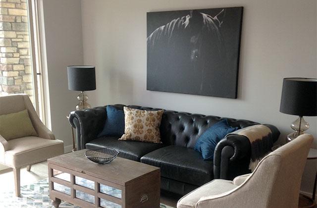 Lexington Court Apartments-Langley 221st living room