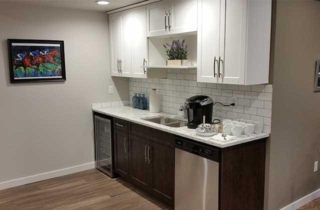 Lexington Court Apartments common kitchen