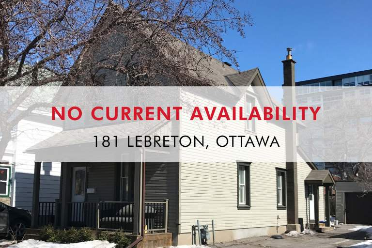 181 Lebreton Apartment for Rent Ottawa