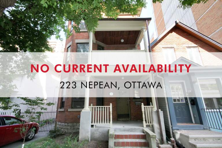 223 Nepean Apartment for Rent Ottawa