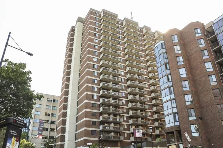 La Tour Lafontaine Apartment for Rent Montreal