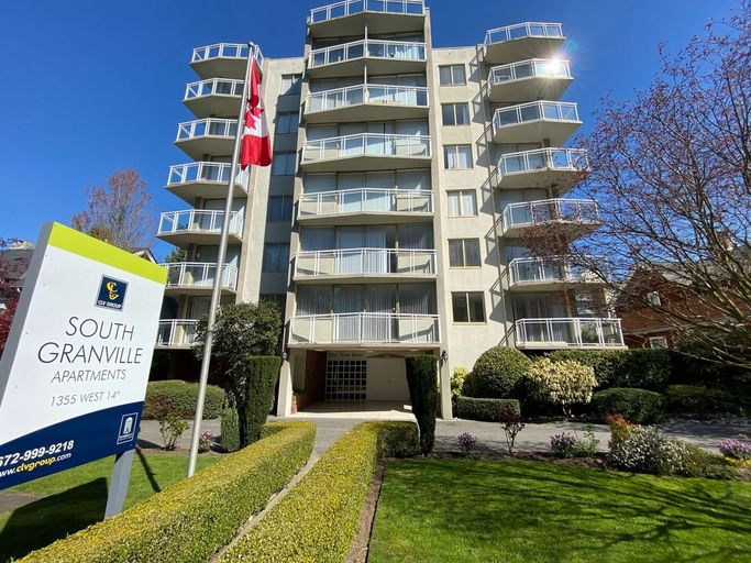 South Granville exterior located in Fairview, Vancouver