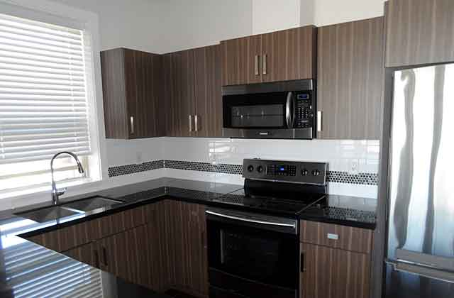 Encore  Apartments in Langley kitchen