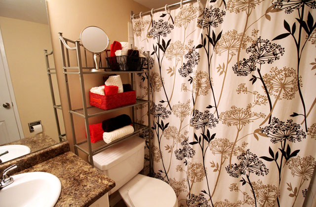 The Ridgewood Apartments. bathroom