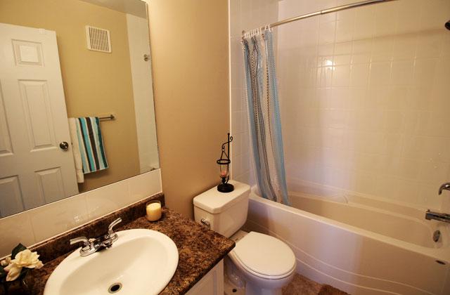 Southdale Park Apartments bathroom