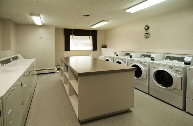 Heatheridge Estates Apartments Edmonton laundryroom
