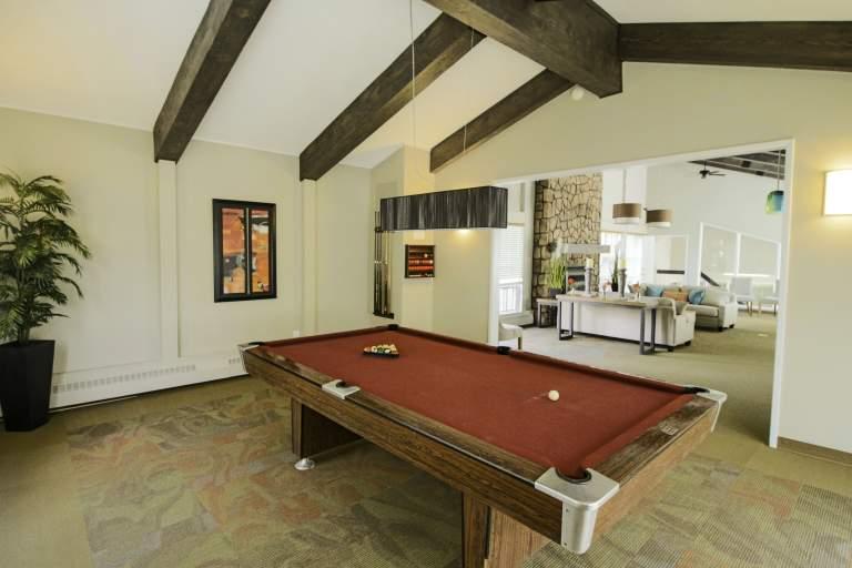 Heatheridge Estates Apartments Edmonton pool table