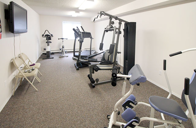 Providence Apartments gym