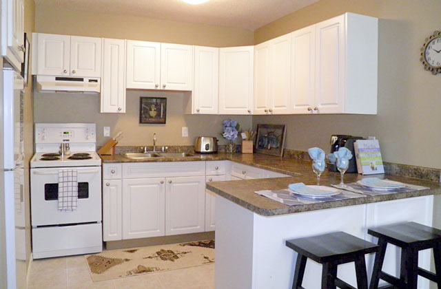 Arrowstone Apartments. kitchen