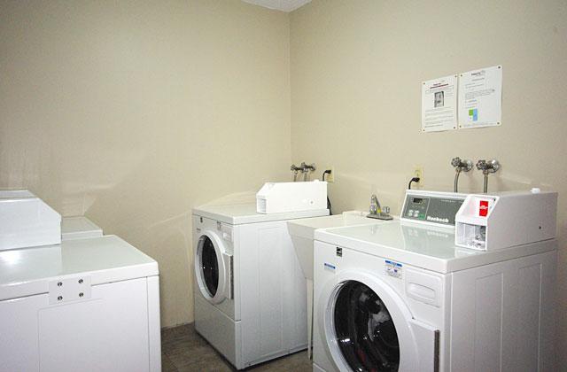 Arrowstone Apartments laundry