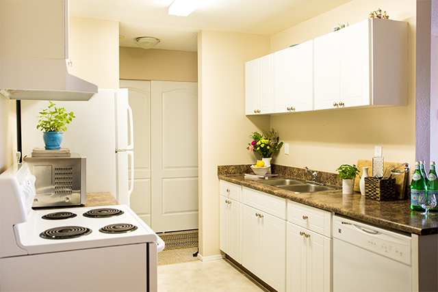 Carriage House Apartments. kitchen2