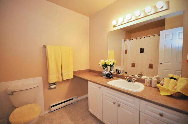 College Manor Apartments bathroom