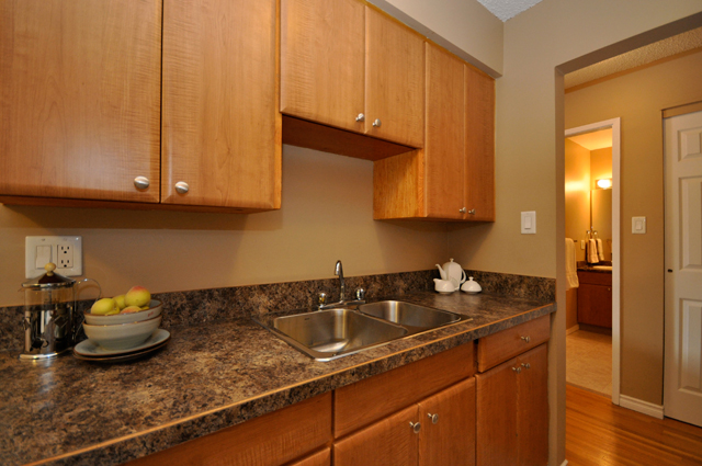 Columbia Manor Apartments. kitchen2