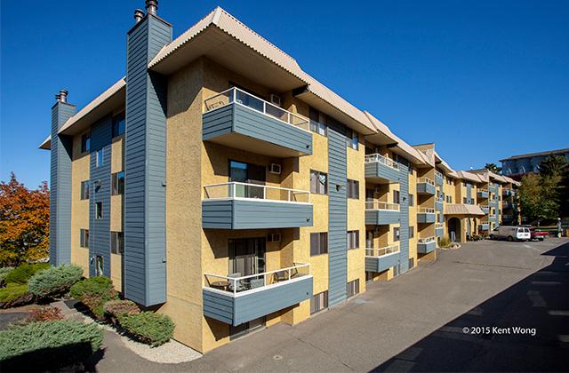 Dufferin Terrace Apartments building Kent Won