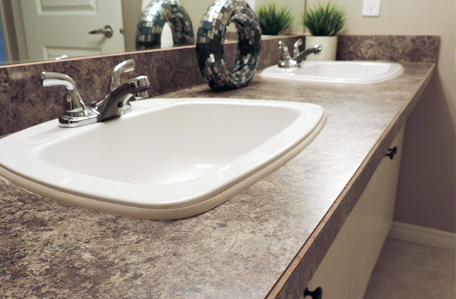 Edgewater Terrace Apartments. bath sink