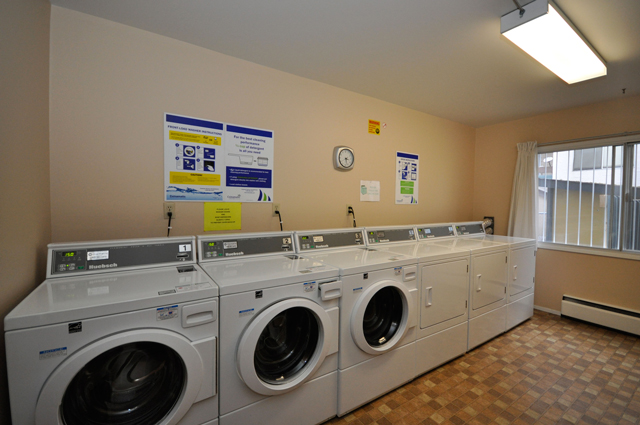 Fraser Manor Apartments. Laundry