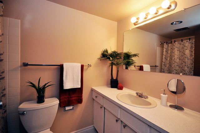 Rent in Kelowna – Pandosy Square. Bathroom