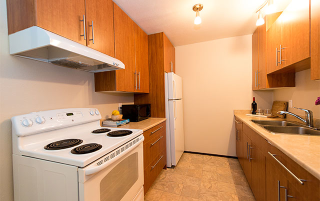 Forest Glen Apartments. kitchen