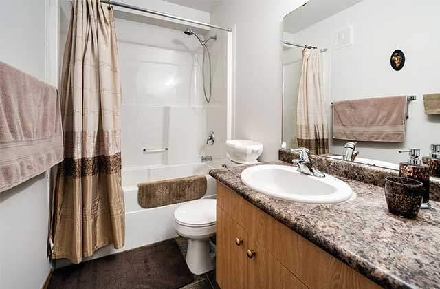 Emerald Manor Apartments. bathroom