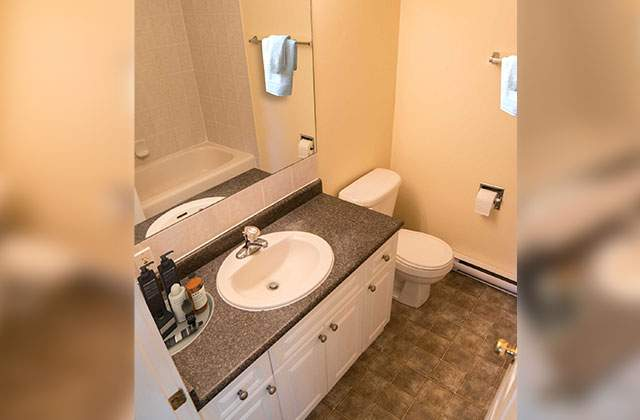 Ashbury Court Apartments. bathroom