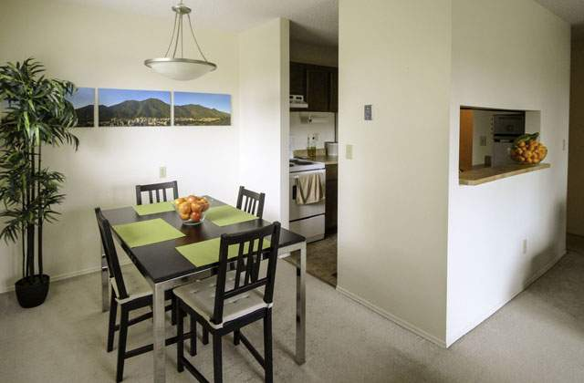 Heatheridge Estates Apartments. dining