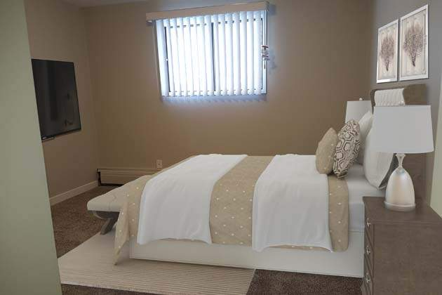 Southdale Park Apartments. bedroom