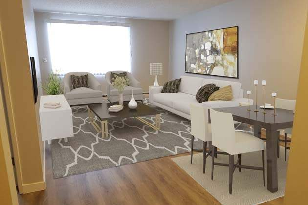 Southdale Park Apartments. living dining