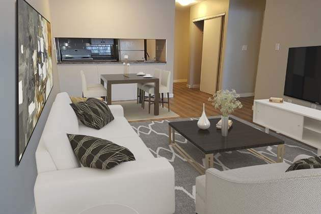 Southdale Park Apartments Living Dining