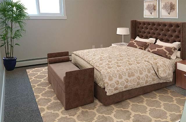 Hillview Estates Apartments. bedroom