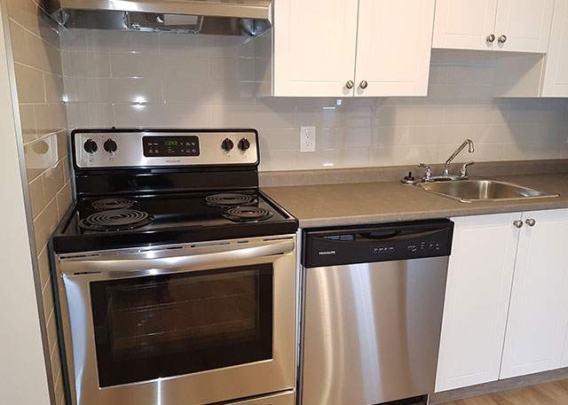 Southdale Park Apartments. kitchen