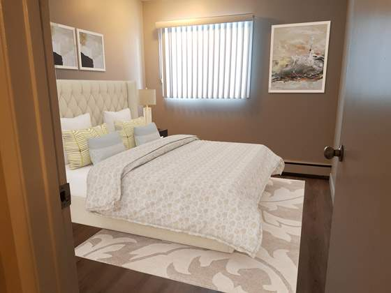 Sunronita House Apartments. master bedroom
