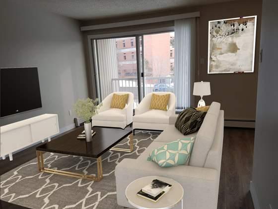 Sunronita House Apartments. living room