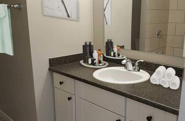 Glynnwood Terrace Apartments. bath