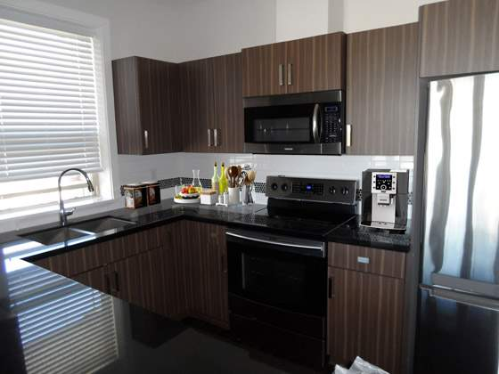 Encore Apartments. kitchen