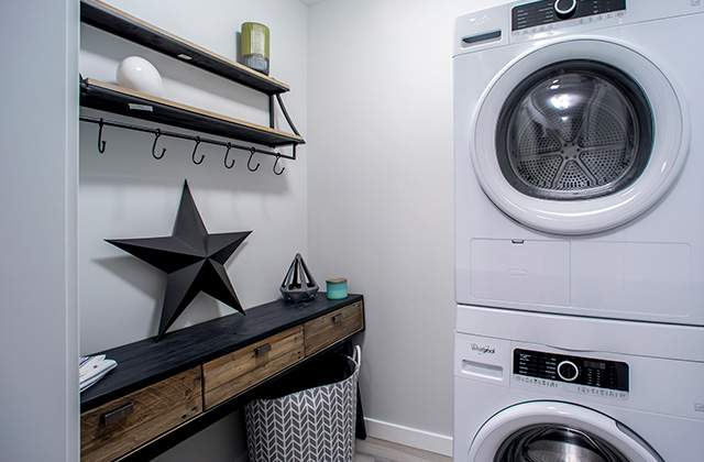 Peterson Landing Apartments in-suite laundry