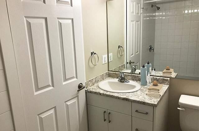 Dufferin Terrace Apartments bathroom