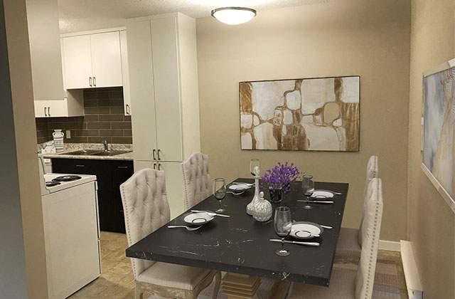 Dufferin Terrace Apartments dine