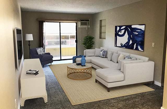 Dufferin Terrace Apartments living
