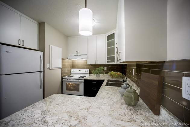 Curlew Apartments kitchen