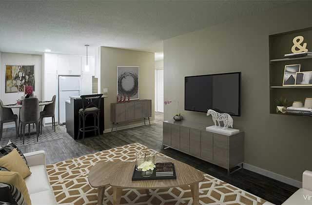 Stetson Place Apartments living
