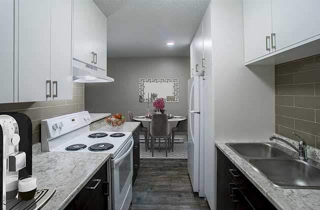 Stetson Place Apartments kitchen