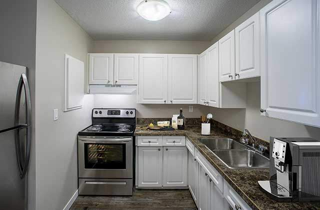 Kelson Manor Apartments kitchen